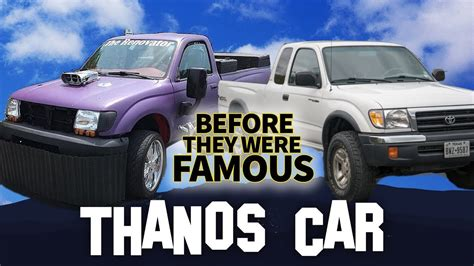 Thanos Car  Before They Were Famous  Sean The Renovator