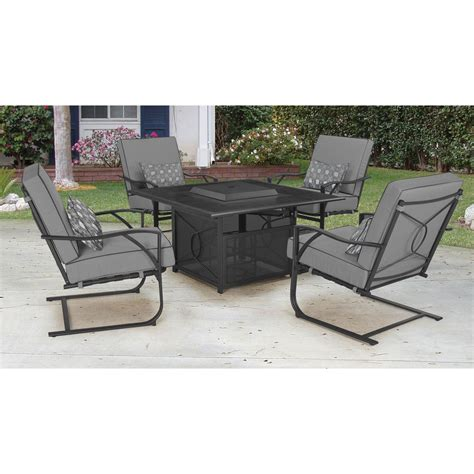 Courtyard Creations Pit Patio Furniture by Courtyard Creations Coronado Pit Set 5 Pc Firepits