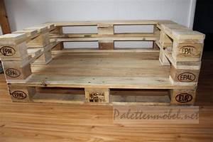 Bauanleitung Paletten Sofa : couch aus paletten palettenm bel m bel aus paletten mit eigenen h nden ~ Markanthonyermac.com Haus und Dekorationen