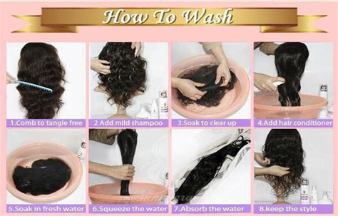 How To Wash Human Hair Wig?blog   Julia Hair