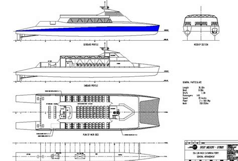 Catamaran Hull Lines by Catamaran Boat Plans Are A Waste Of Money Zehicov