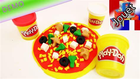 gigantesque pizza en p 226 te 224 modeler play doh jouer 224 faire de la v 233 ritable cuisine fast food