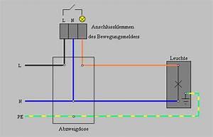 Lampe Mit Bewegungsmelder Und Schalter : bewegungsmelder anschlie en 12v ~ Markanthonyermac.com Haus und Dekorationen