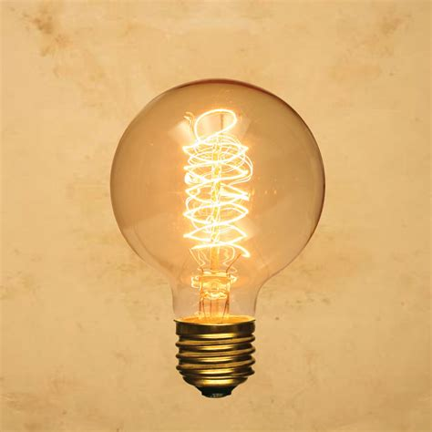 antique light bulbs g95 edison style light bulb globe spiral vintage antique