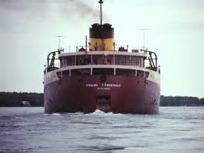 Sinking Of The Ss Edmund Fitzgerald by The Wreck Of The Edmund Fitzgerald Michigan In Pictures