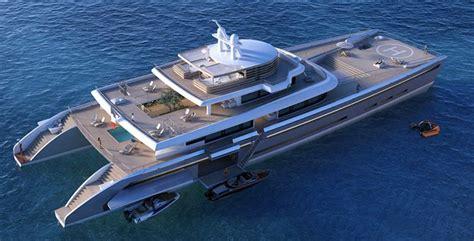 Mega Catamaran Sailing Yachts by Wordlesstech Manifesto Catamaran Mega Yacht