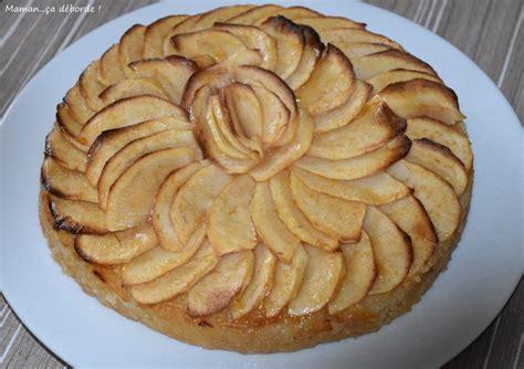 tarte aux pommes sans p 226 te maman 231 a d 233 borde