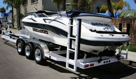 Seadoo Boat Combo by Shadow Combination Boat Pwc Trailer White