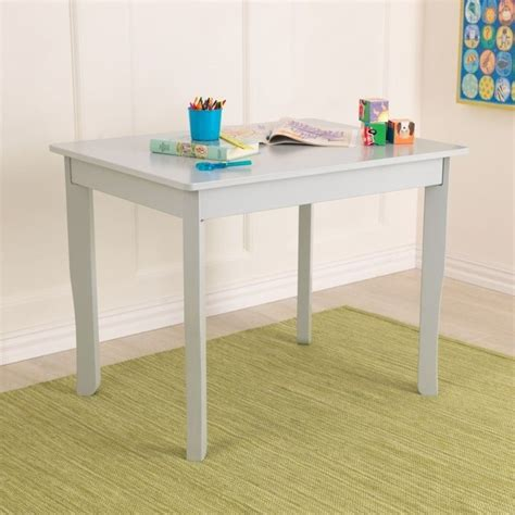 kidkraft avalon table ii in gray fog 26630