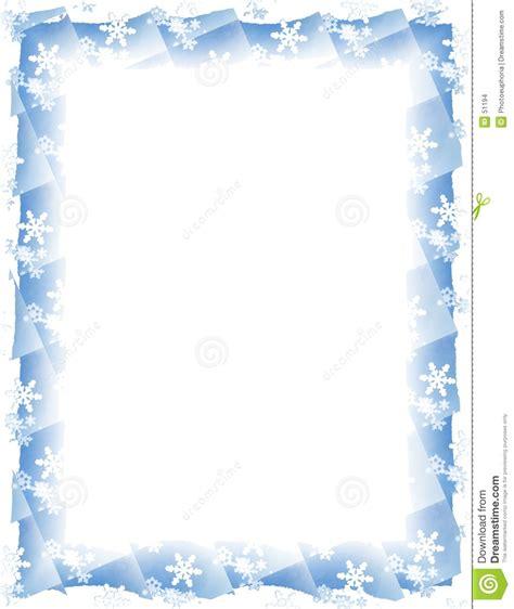 cadre de tuile de flocon de neige au dessus de blanc images stock image 51194