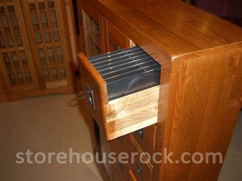 leslie dame library style multimedia storage cabinet