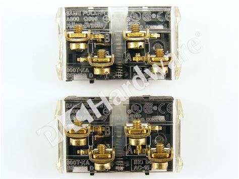 Plc Hardware Allenbradley 800txa Shallow Block,1 No  1 Nc