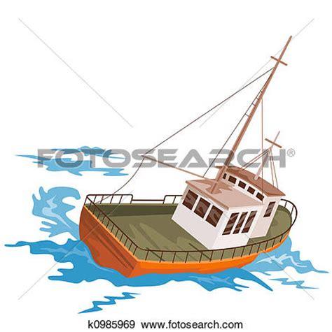 Fishing Boat Art by Fishing Boat Clip Art 101 Clip Art