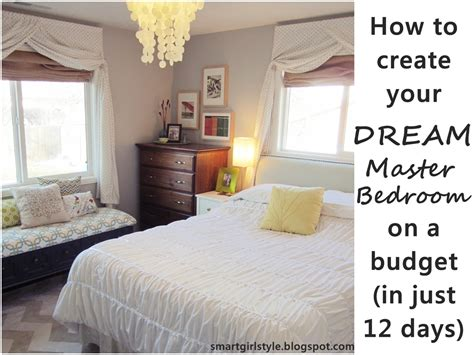 Smartgirlstyle Master Bedroom Makeover Putting It All