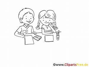 Kinder Bilder Malen : malen im kindergarten zeichnung bild schwarz weiss clipart comic cartoon kostenlos ~ Markanthonyermac.com Haus und Dekorationen