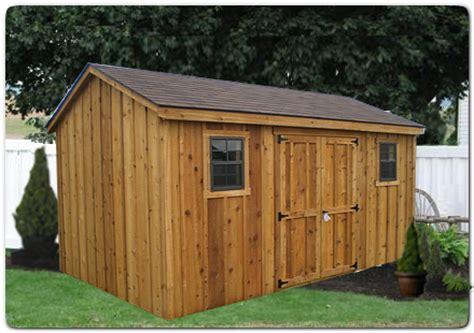 west virginia pine sheds