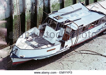 Party Boat Thames Disaster by The Pleasure Boat Marchioness Sank After Being Hit By The