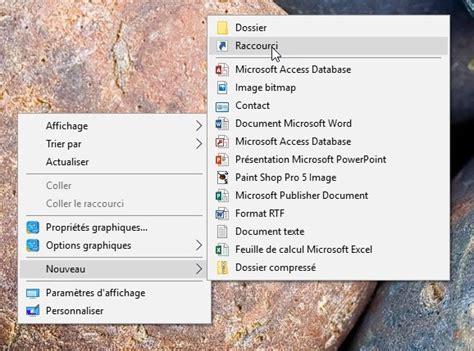 windows 10 une ic 244 ne vers le panneau de configuration sur le bureau m 233 diaforma