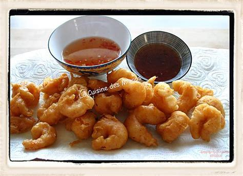 recette de beignets de crevettes chinois