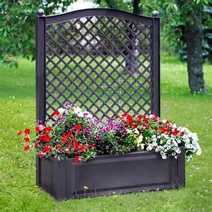 Garten Klappstühle Kunststoff : khw pflanzkasten gro mit spalier anthrazit kaufen bei obi ~ Markanthonyermac.com Haus und Dekorationen