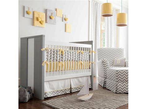 indogate chambre bebe jaune et grise