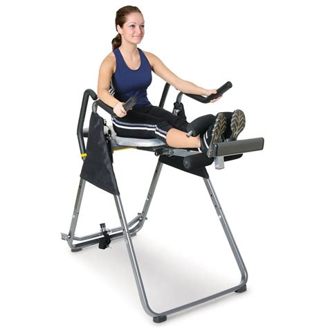 the inversion machine and captain s chair hammacher