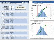 Monte Carlo Simulation Template for Excel