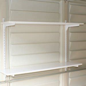 duramax storage shed accessory shelf kit 12 quot x 36 quot patio lawn garden