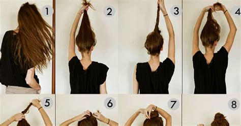 Messy Bun Hairstyles For Long Hair Step By Step |beautiful Girls Magazine September