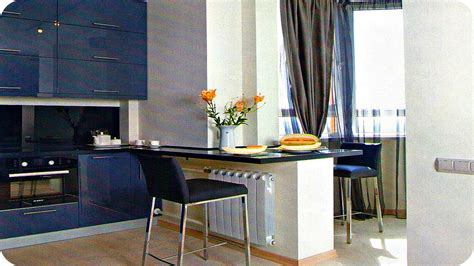 Дизайн Кухни Совмещенной с Балконом  Kitchen Design Ideas