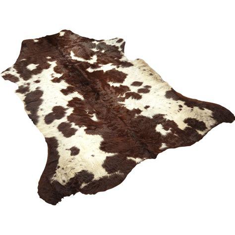 tapis peau de vache l 130 x l 100 cm leroy merlin