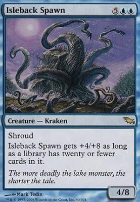 mtg cards shadowmoor foil isleback spawn