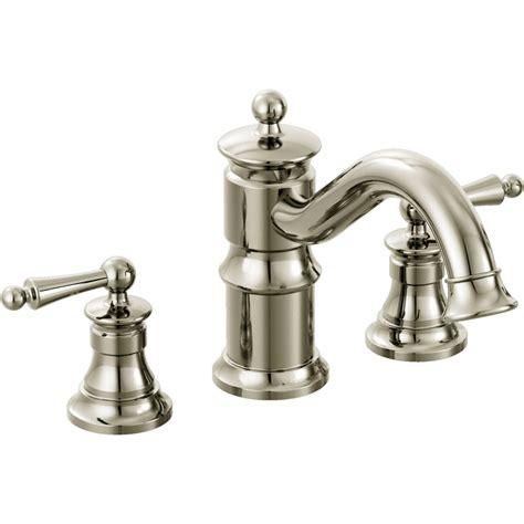 moen ts214nl waterhill polished nickel two handle
