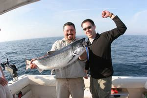 Charter Boat Fishing Grand Haven Michigan by Fish Grand Haven Charter Boat Lake Michigan Fishing