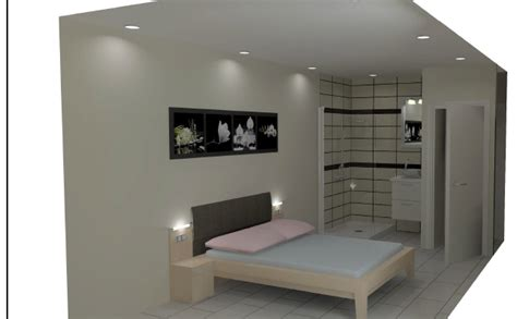 transformation d un garage mitoyen en chambre avec salle de bains agence d annecy