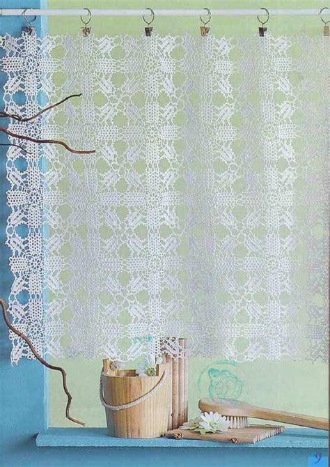 crochet creations 30 rideaux panneaux dentelle brise bise au crochet 06 jpeg c r o c h e t
