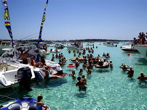 Party Boat Fishing Clearwater Beach Fl by Crab Island Destin Florida Guide Destin Florida Revealed