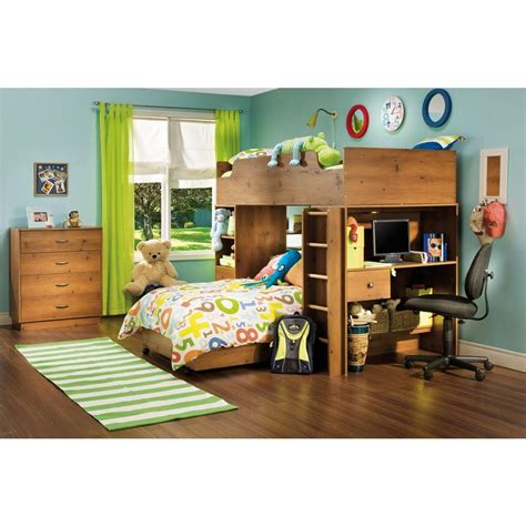 South Shore Logik Twin Loft Bed In Sunny Pine (4piece. Reception Desks. Steel Drawer Pulls. Baby Seat For Table. Tall Reception Desk. Corner Desk Small Spaces. Floating Drawers Set Of Two. Lap Desk For Bed. Office Desk Ball