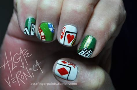 18 Best Casino Nails Images By Caroline Pringle On