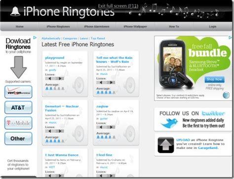 Top 10 Websites For Free Iphone Ringtones