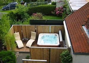 Bambus Edelstahl Sichtschutz : die besten 25 bambuszaun ideen auf pinterest bambus garten ideen bambus als sichtschutz und ~ Markanthonyermac.com Haus und Dekorationen