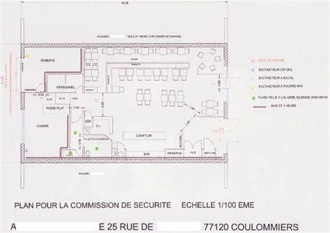 plans d am 233 nagement pour les commissions plan d une cuisine de restaurant aux normes