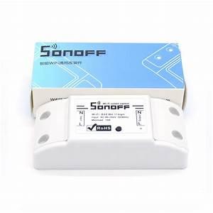 Smart Home Wlan : sonoff basic wifi remote control smart switch mqtt itead ~ Markanthonyermac.com Haus und Dekorationen