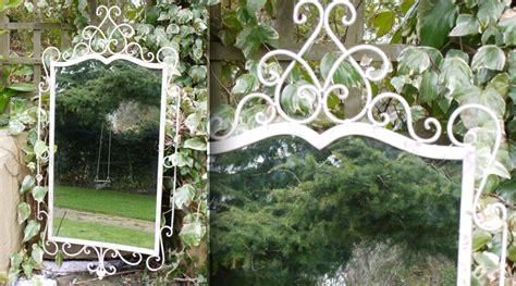 miroir d 233 co fer forg 233 blanc antique miroir en fer forg 233 miroir d 233 co et ambiances