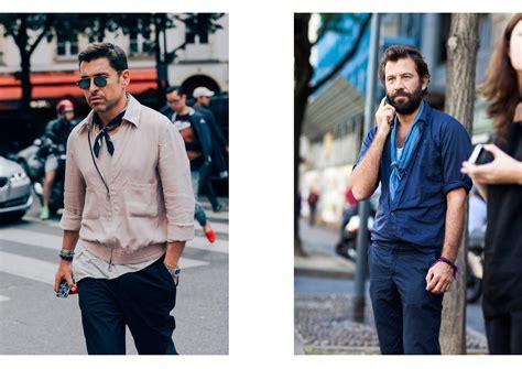 comment bien porter et nouer un foulard pour homme nos conseils