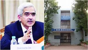 DM School Bhubaneswar Alumni Shaktikanta Das appointed as ...