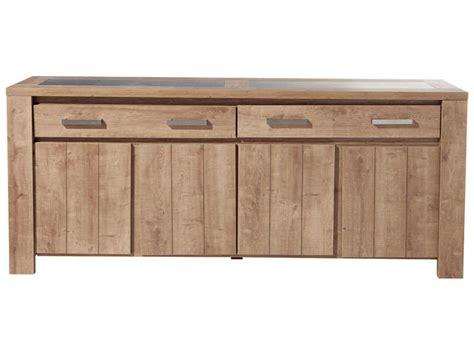 bahut 4 portes 2 tiroirs brest coloris ch 234 ne vente de buffet bahut vaisselier conforama