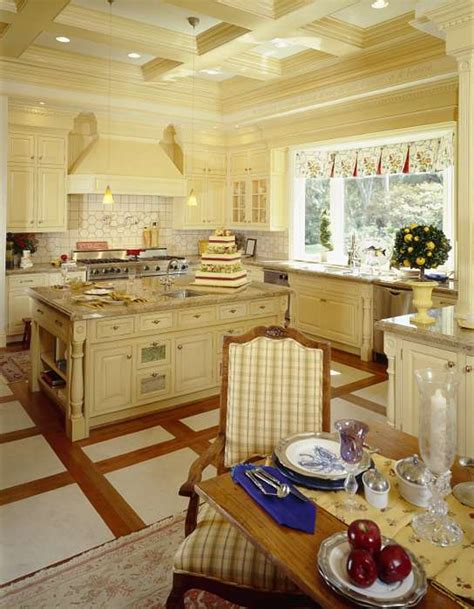 Kitchen Large French Country Kitchen