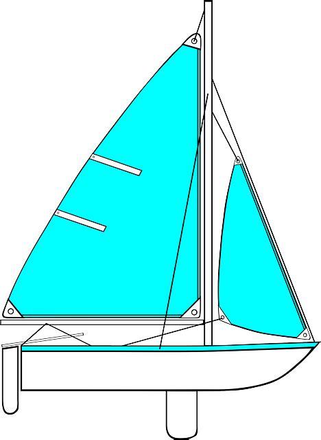Sailboats Cartoon by Sailing Cartoon Transportation Boating Sailboat