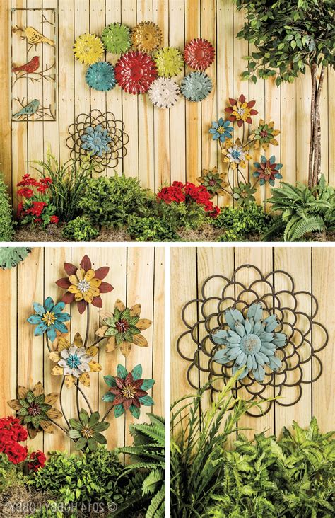 2018 Best Of Decorative Outdoor Metal Wall Art